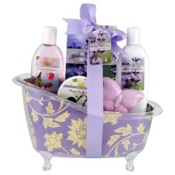 Baignoire de Bain - Flower - Lavande, Magnolia & Fleurs de Cerisier - 5 pièces - Gloss