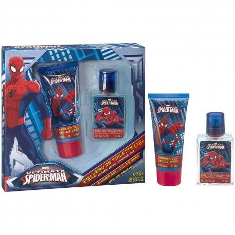 Spiderman Coffret enfant avec eau de toilette 25ml - 2pcs