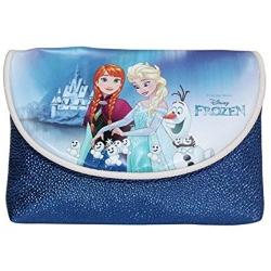 Reine des Neiges sac à main format pochette bleu