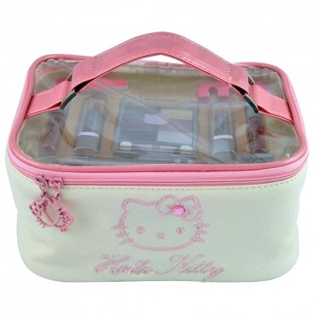 Vanity - Trousse de Maquillage - Hello Kitty - 15 Pcs