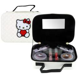 Mallette de Maquillage - Hello Kitty - 8 Pcs