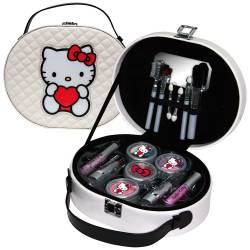 Mallette de Maquillage - Hello Kitty - 20 Pcs