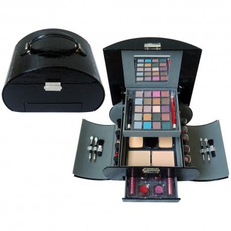 Mallette de maquillage Fashion Beauty noir - 49pcs