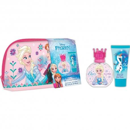 Reine des Neiges Coffret enfant avec eau de toilette - 3pcs