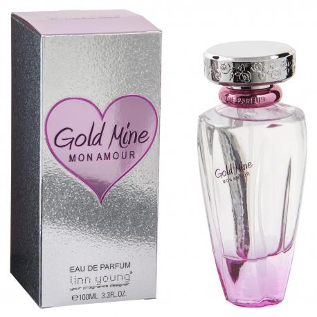 Linn young Eau de parfum femme 100ml Gold Mine Mon Amour