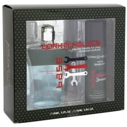 Coffret Toilette Homme - Eau de Toilette 100ml et Déodorant Work Holics base - Linn Young