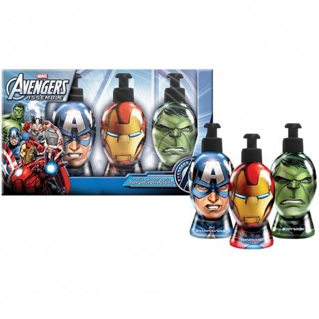 Avengers Coffret enfant avec gel douche et shampoing - 2pcs
