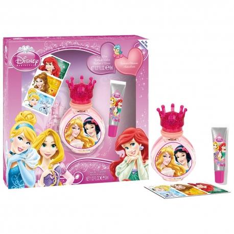 Disney Princesses Coffret enfant avec eau de toilette - 3pcs