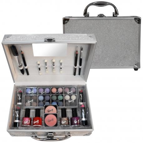 Mallette de maquillage Fireworks gris - 42pcs