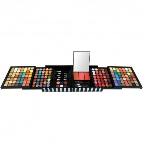 Palette de maquillage complète noir - 187pcs