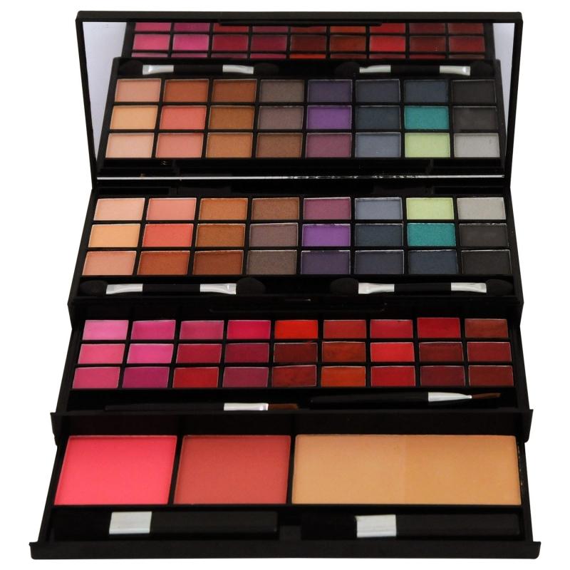 palette de maquillage 61 pi ces. Black Bedroom Furniture Sets. Home Design Ideas