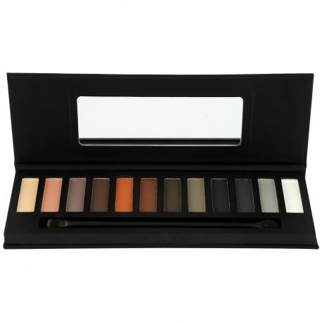 Palette de maquillage Nude et Smoky - 14pcs