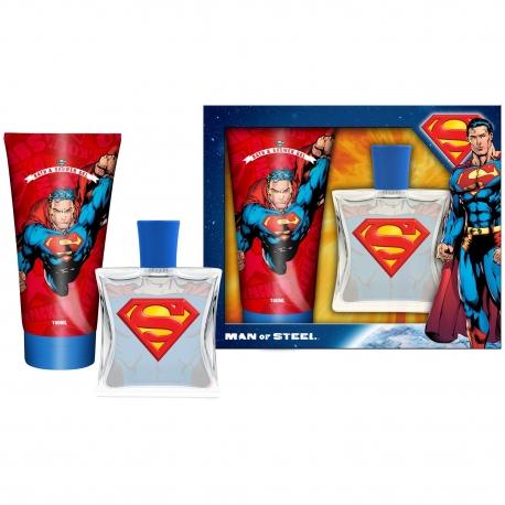 Superman Coffret enfant avec eau de toilette 50ml - 2pcs