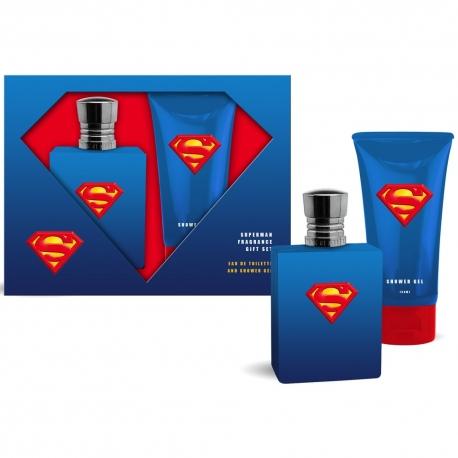 Superman Coffret enfant avec eau de toilette 75ml - 2pcs