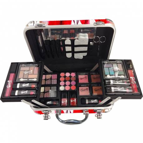Mallette de maquillage Fashion Week blanc - 64pcs