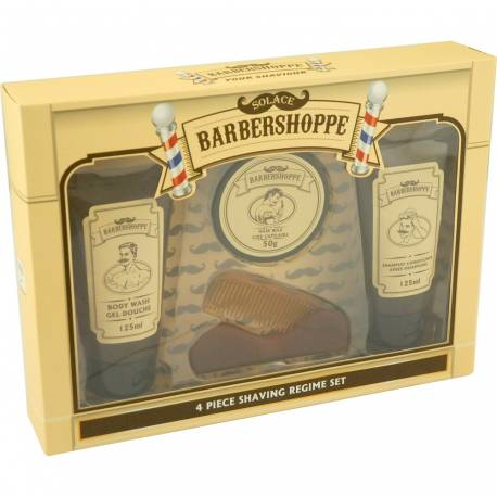 Coffret de bain BARBERSHOPPE - 4 pcs - Gloss!