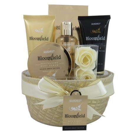 Coffret de bain au parfum musc et fleurs blanches - 7pcs