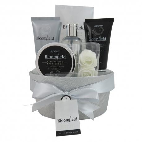 Coffret de bain au parfum léger fleurs de coton - 7pcs
