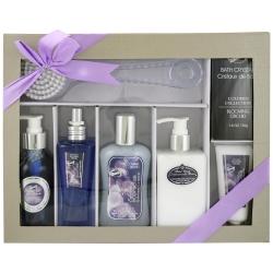 Coffret de bain au parfum élégant d'orchidée - 7pcs