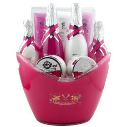 Coffret de bain au parfum rose,lys et freesia - 9pcs