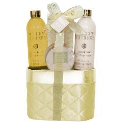 Gloss! Panière de Bain BODY LUXURIOUS Vanille et Tilleul - 4pcs