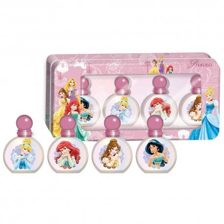 Disney Princesses Eau de toilette fraîche pour enfant 4x8ml