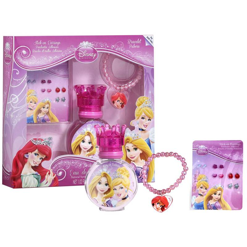 disney princesses coffret enfant avec eau de toilette 3pcs. Black Bedroom Furniture Sets. Home Design Ideas