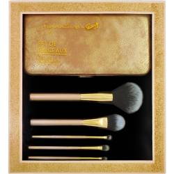 Gloss! Kit de Pinceaux Maquillage Professional - 6pcs