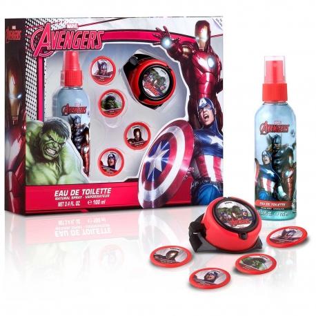 Avengers Coffret enfant avec eau de toilette 100ml - 2pcs