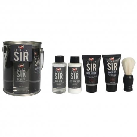 Coffret de rasage au parfum doux d'eucalyptus - 5pcs