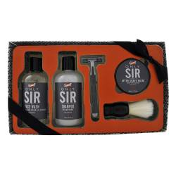 Gloss! Coffret de Rasage Homme Only Sir - Eucalyptus - 5pcs