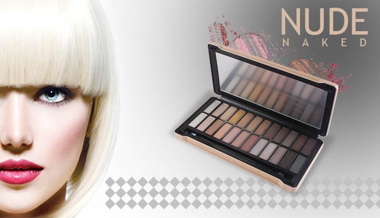 Palette de Maquillage Nude 25pcs - Gloss