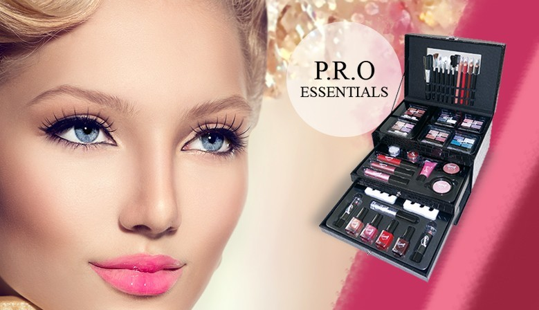 Mallette de Maquillage - Stylish Essentials - 57 Pcs - Gloss